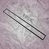 LEDL Drainage Technology Marine Grade Stainless Steel 316 Stone/Tile/Marbal Insert Shower Drain Channel