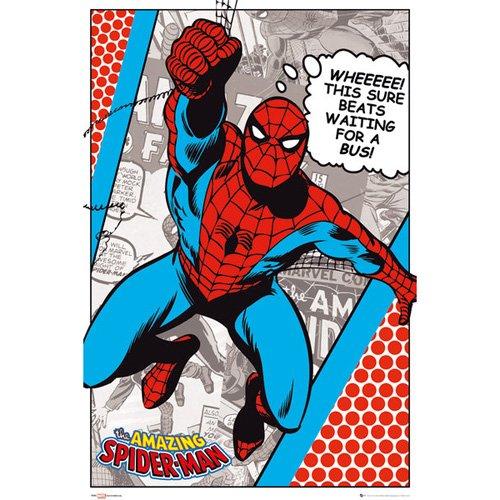 Spiderman - Poster Amazing Spiderman (in 61 cm x 91,5 cm)