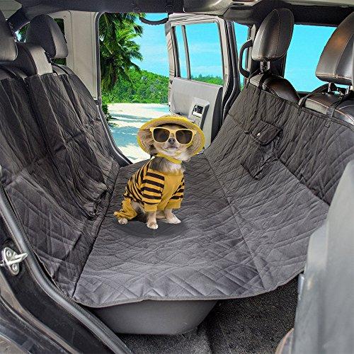 Anself Wasserdicht Autoschondecke Auto Hundedecke Hängematte mit kleiner Tasche 145x140cm