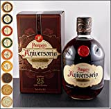 Pampero Aniversario Reserva Exklusiva Rum mit 9 DreiMeister Edel Schokoladen in 9 Variationen, kostenloser Versand