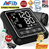 Dr Trust Atrial Fibrillation Automatic Dual Talking Digital BP Monitor Machine (Black)