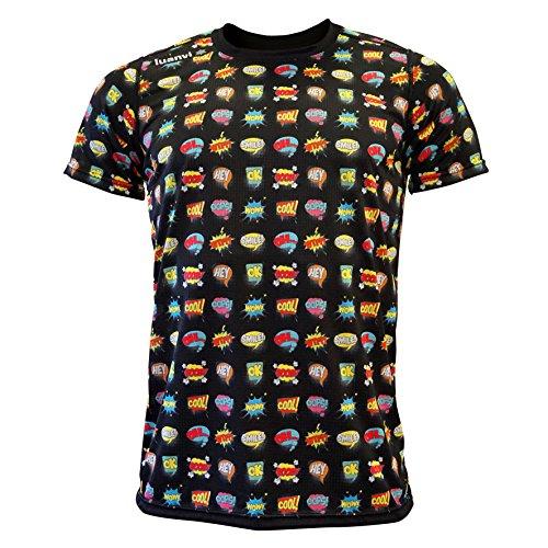 Luanvi Edición Limitada Camiseta técnica cómic