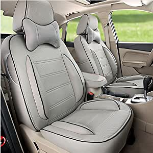 custom fit black sports style car seat covers set for toyota fortuner previa sienna land cruiser. Black Bedroom Furniture Sets. Home Design Ideas