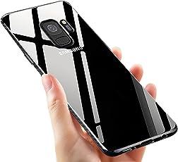 Samsung Galaxy S9 Handyhülle, ikalula Shock Proof Galaxy S9 Hülle Anti-Kratzer Ultra Dünn Durchsichtige Schutzhülle Klar Weich Flexibel Gel TPU Case für Samsung Galaxy S9 Cover - Transparent
