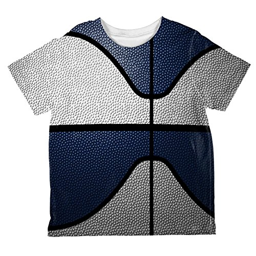 Championship Basketball White & Navy Blue Ganz Kleinkind T-Shirt Multi 4T (Championship White T-shirt)