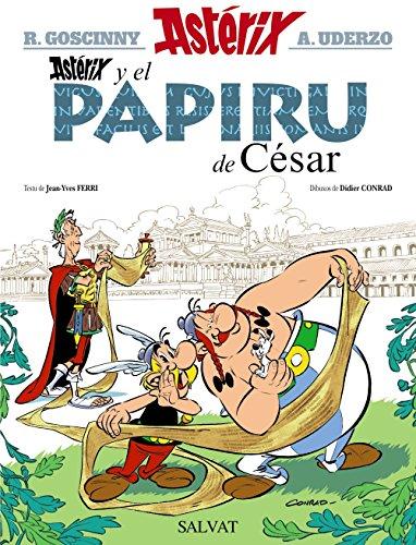 Astérix y el papiru de César (Asturiano - A Partir De 10 Años - Astérix - La Colección Clásica) por René Goscinny