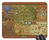 Monster Hunter Map Mouse Pad, Mousepad (10.2 x 8.3 x 0.12 inches)