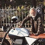 Bikers Gear Lederjacke im klassischen Bikerlook, Motorradjacke aus Rindsleder, gewachst und geölt, braun, Jacke CE1621-1PU Armour Größe L
