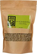 Indian Origins Low GI Parboiled Rice 1 kg (500 gms X 2)