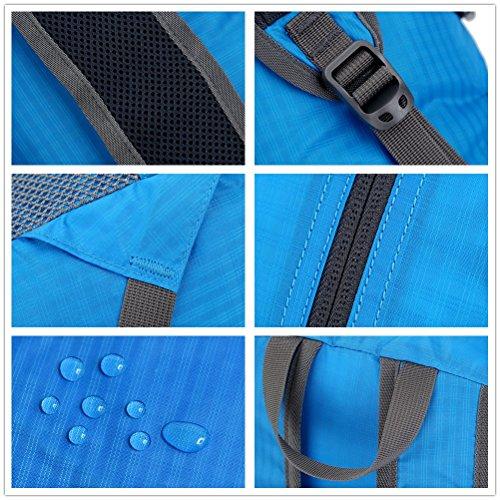 Oricsson durevole leggero resistente all' acqua Resistente zaino Zaino 20l/33L Blue