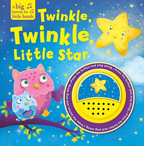 Twinkle, Twinkle Little Star (A Big Button for Little Hands Sound Book) por Igloobooks
