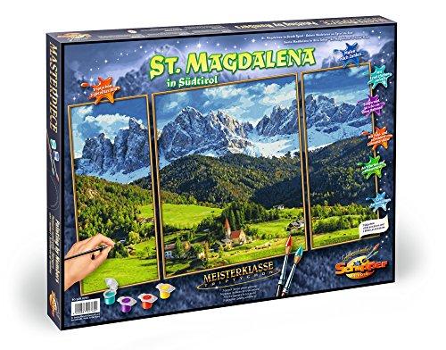 Schipper 609260760 - Malen nach Zahlen - St. Magdalena in Südtirol