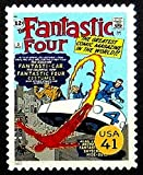 Passion Fantastic Four Dessin animé et Comic USA - encadrée Art Timbre-Poste 13196