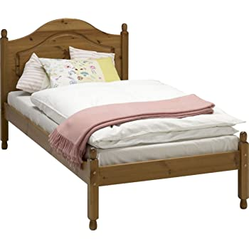 Richmond Steens Pine 3\' Single Bed Frame Complete Solid Wood Slats ...