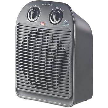Bajaj Majesty RFX2 2000-Watt Room Heater (Black)