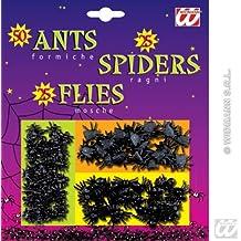 Faux insectes araignées, mouches et fourmis Halloween