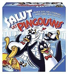 Ravensburger - Jeu de société - Salut Les Pingouins
