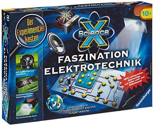 Ravensburger 18897 - Experimentierkasten ScienceX Faszination Elektrotechnik