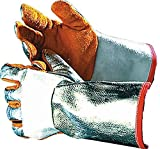 Schweißerschutzhandschuhe Schweißhandschuh Handschuh Schutzhandschuh STOPCALOR ALU für Lichtbogenschweißen ... Gr. 10