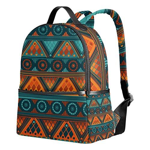 Afrika Art Nation Custom Bookbag Travel Large Casual Rucksack Daypack für Teenager Mädchen Jungen ()