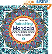 #4: Refreshing Mandala - Colouring Book for Adults Book 1