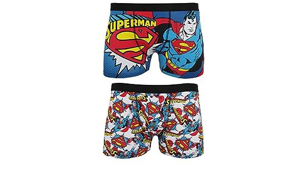 e386e62b75e526 DC Comics Superman Herren Boxer Shorts (2 er Packung) (S ...