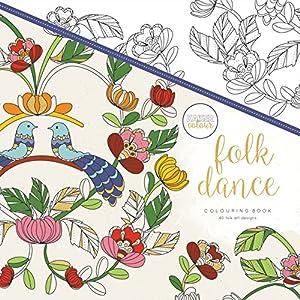 Kaisercraft - Libro para colorear Folk Dance (CL515)