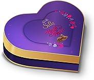 Cadbury Dairy Milk Silk Valentines Heart Shaped Chocolate Gift Box, 378g