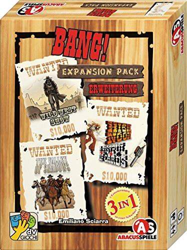 ABACUSSPIELE 38159 - BANG! Expansion Pack - Spiel Bang