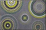 Erwin Müller Fußmatte grau/grün Größe 40x60 cm