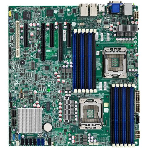 S7045 Tyan-S7045WGM2NR SSI, EEB-Scheda madre Intel Socket 1356 C602 Aspeed AST 2300-8 SAS 3GB/s x (Tyan Pci Madre)
