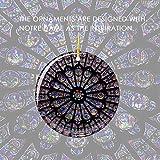 Colgante De Pared De Notre Dame, Notre Dame De París Colgantes Decoraciones Caseras Para Colgar En La Pared Innovadoras