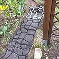 Betonform mit Natursteinmuster 40x40x4cm von arcotec auf Du und dein Garten
