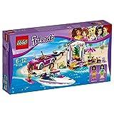 #7: LEGO Andrea's Speedboat Transporter
