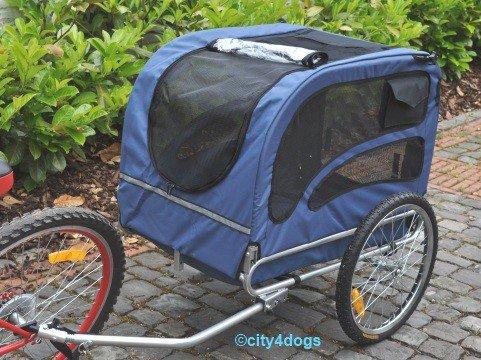 Hunde-Fahrradanhänger Starlight Maxi - bis 40kg Zuladung