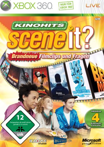 Scene It? - Kinohits (inkl. 4 Buzzer)