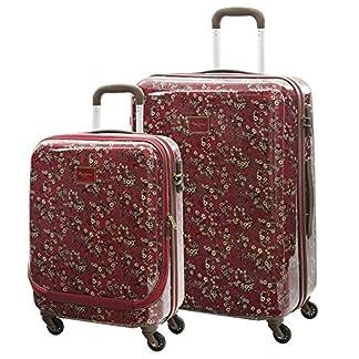 Pepe Jeans Pina Set de Maletas, 114 Litros, Color Rojo