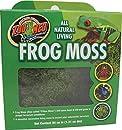 Zoo Med CF3-FME All Natural Frog Moss, 1.31 l, natürliches Moos, erhöht die Feuchtigkeit im Terrarium