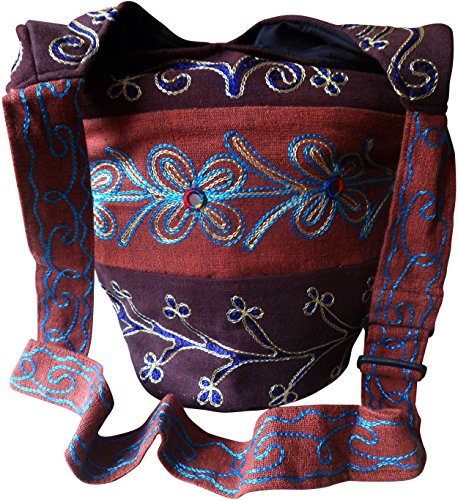 Fair Trade Embroidered Shoulder Bag