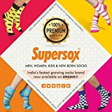 Supersox Women's Regular Length Plain Socks - Pack of 3