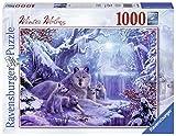 Ravensburger - Puzzle, Foto & Paisaje Invierno de Lobos, 1000 Piezas (19596)