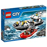 Lego Police Patrol Boat, Multi Color