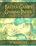 Battle Games Gaming Paper: 1 Inch Grid Paper 8.5