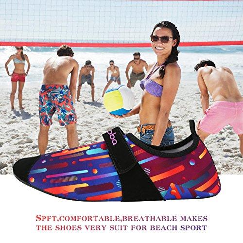 Strandschuhe/ Aquaschuhe/ Surfschuhe mit Mehrfabe für Damen, Herren , Kinderund Baby Mehrfarbig