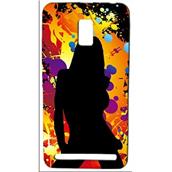 FCS Printed Soft Silicon Back Case for Lenovo A6600 Pattern-106