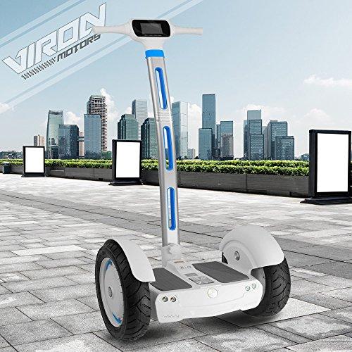 Kategorie <b>E-Scooter mit Griff / Sitz </b> - E-Balance Scooter Segwheel 1300W Elektroroller Smart Wheel Elektro E-Skateboard E-Board (weiß)