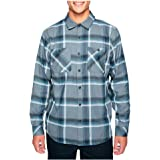 Hurley Men's Dri Fit Hunter Flannel Long Sleeve Button Down Shirt