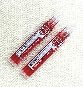 Pilot Frixion Ball Point 0.5mm / Set de 3 recharges x 2 paquet / Rouge (Avec Notre Magasin Description du Produit Originale)