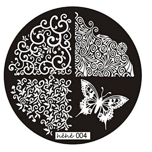 Vovotrade 2016 Motif image Nail Art Stamp plaques de timbrage manucure modèle 004