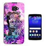 003647 - Mermaid Cool Abstract Universe Design Alcatel idol